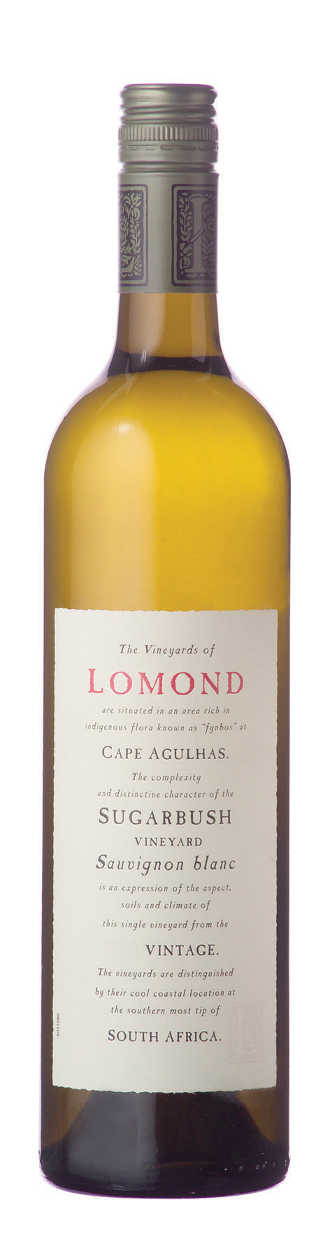 Lomond Sugarbush Single Vineyard, Sauvignon Blanc