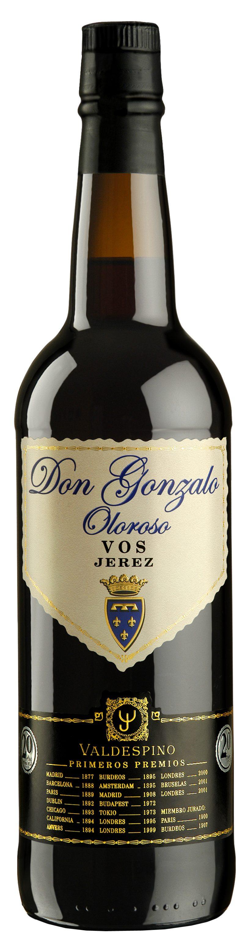 Valdespino Don Gonzalo Oloroso VOS Sherry