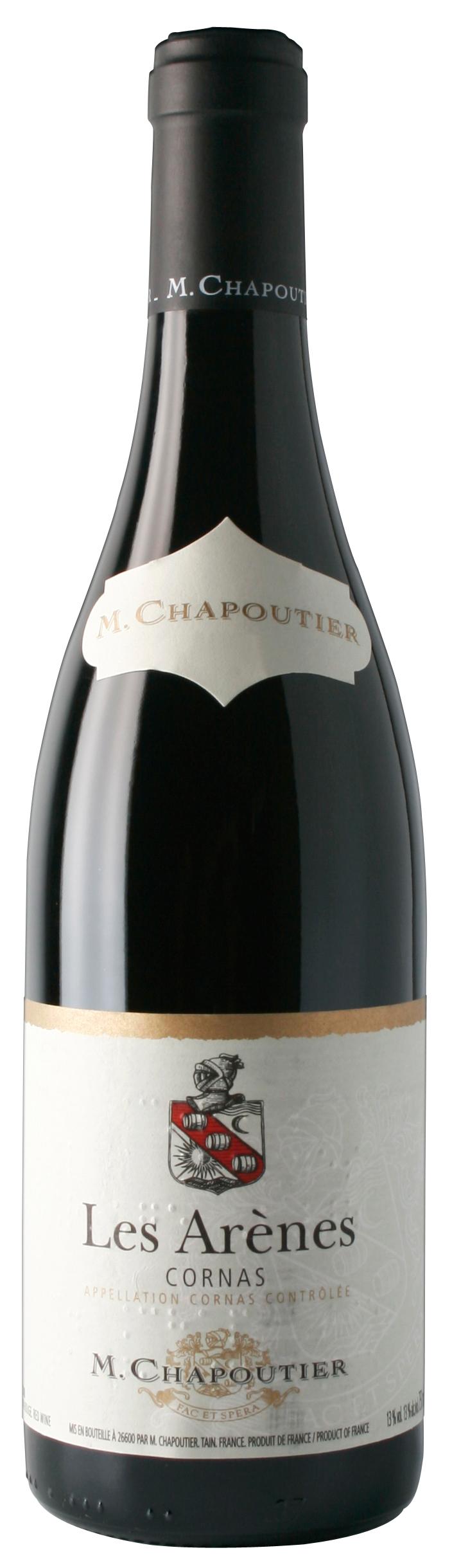"""M. Chapoutier Cornas """"Les Arènes"""""""