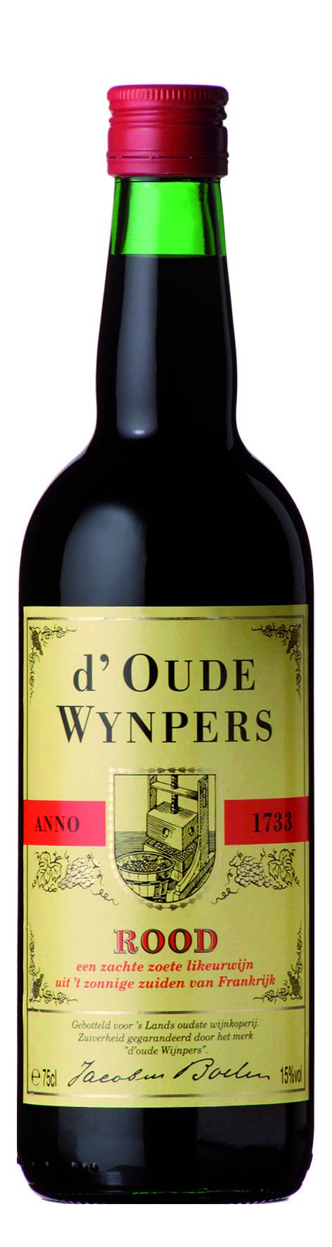 D'Oude Wijnpers, rode zoete wijn