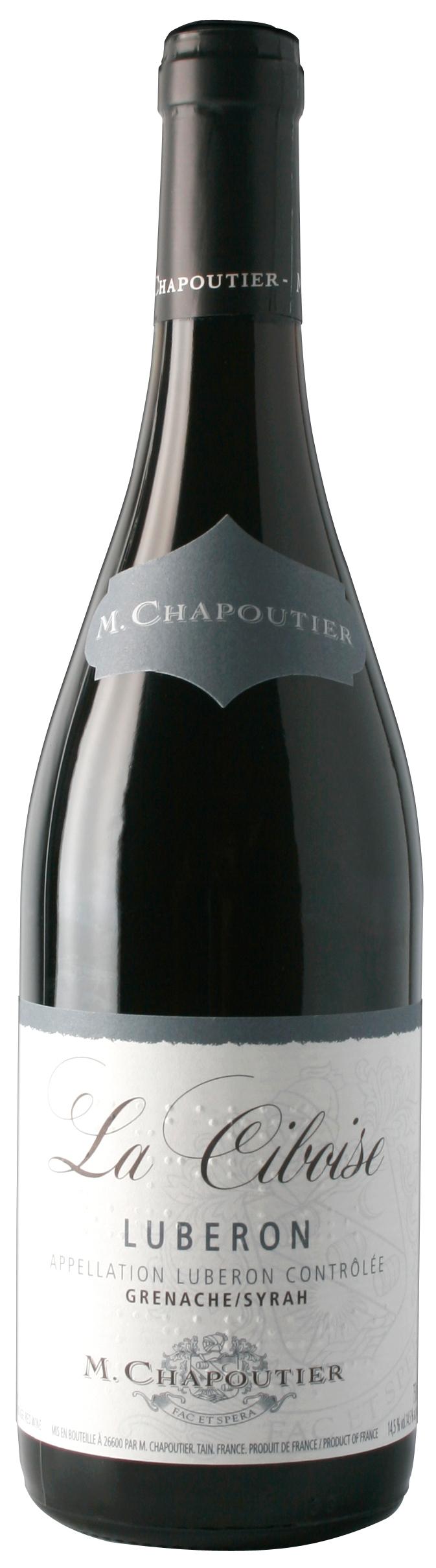 """M. Chapoutier Lubéron """"La Ciboise"""" Rouge"""