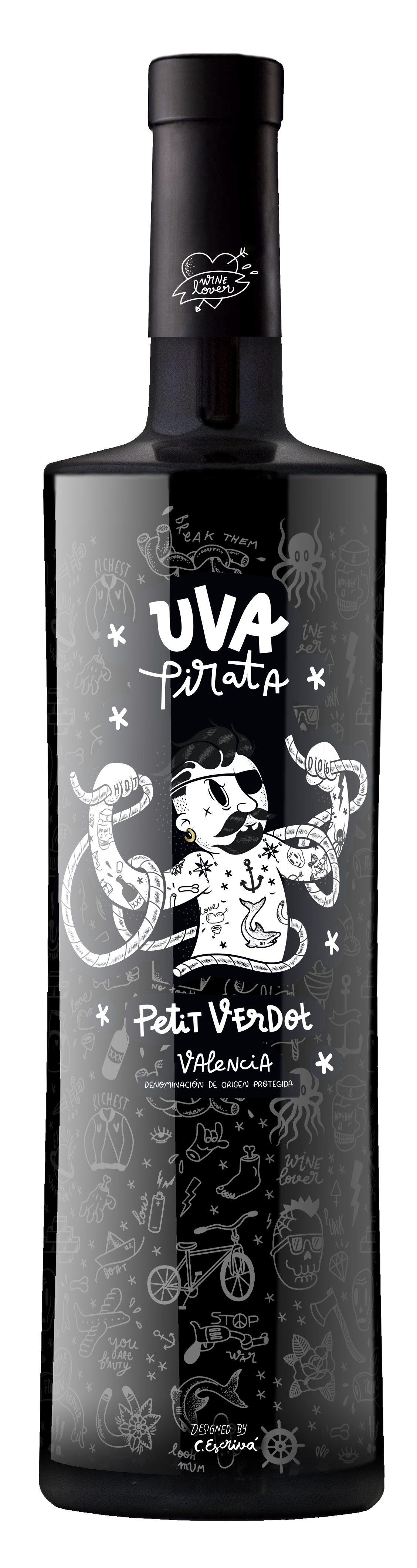 Vicente Gandia Uva Pirata Petit Verdot