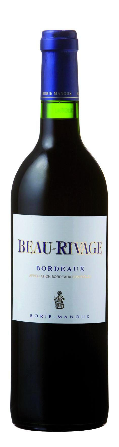 Borie Manoux Beau-Rivage Bordeaux Rouge