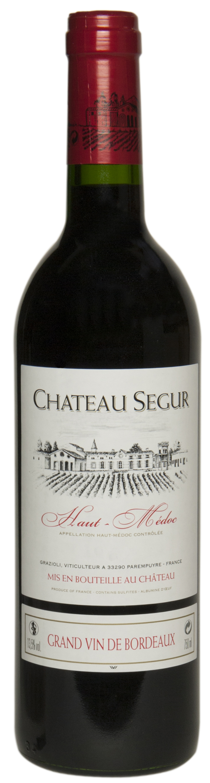 Château Segur, Grand Vin de Bordeaux
