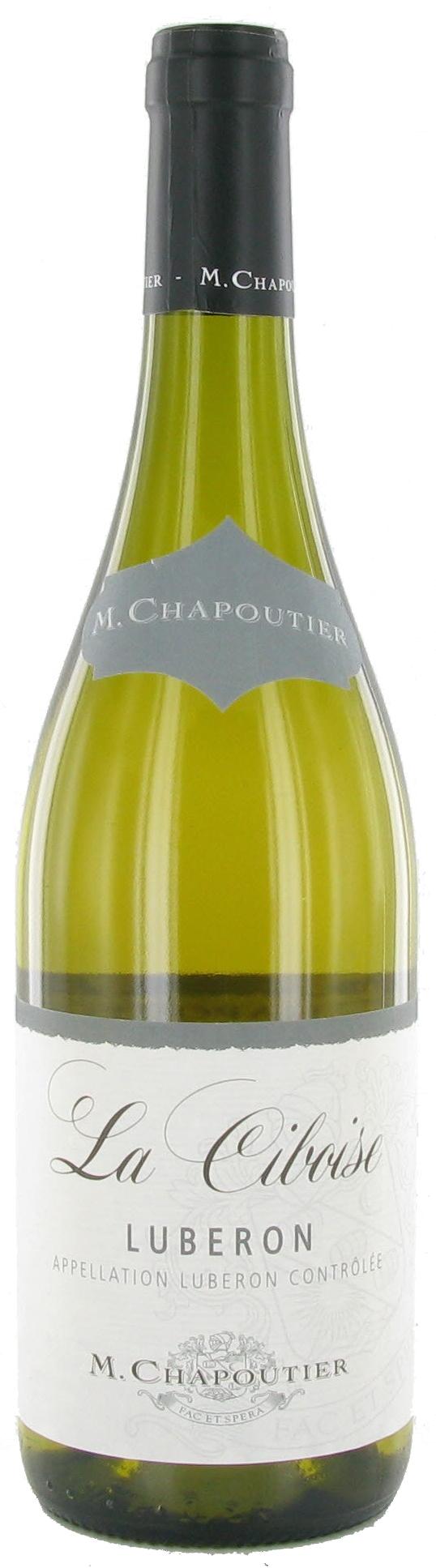 """M. Chapoutier Lubéron """"La Ciboise"""" Blanc"""