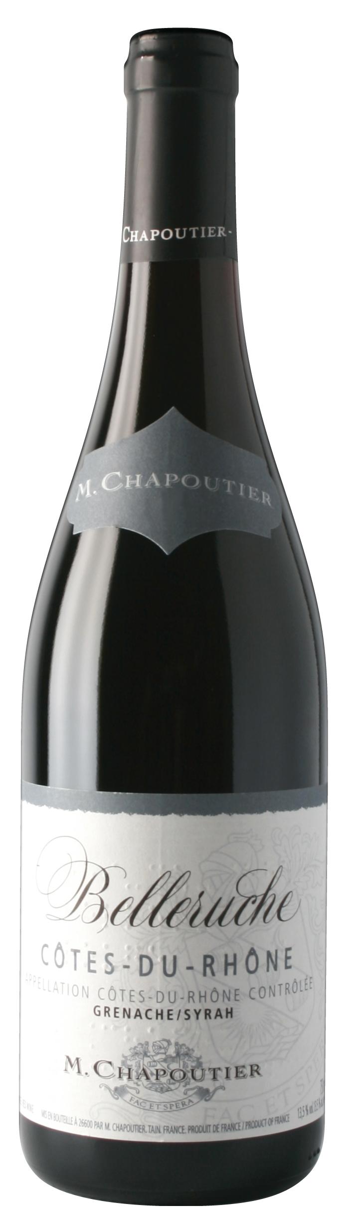 """M. Chapoutier Côtes-du-Rhône """"Belleruche"""" Rouge"""