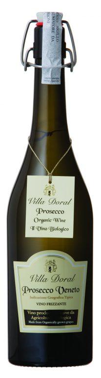 Villa Doral, Prosecco Veneto, Vino Frizzante Organic