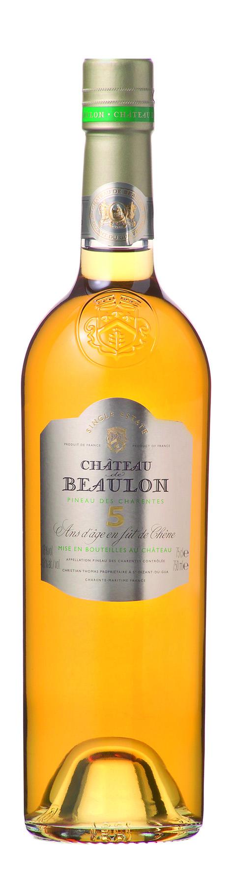 Château de Beaulon Pineau des Charentes, Blanc 5 Ans