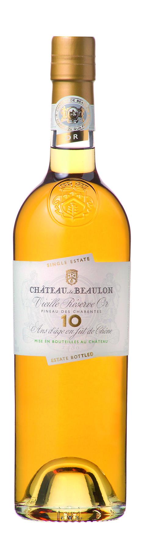 Château de Beaulon Pineau des Charentes, Blanc 10 Ans