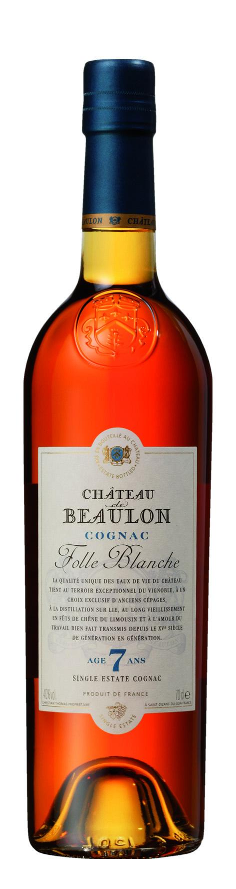 Château de Beaulon Cognac, V.S.O.P. 7 Years Old