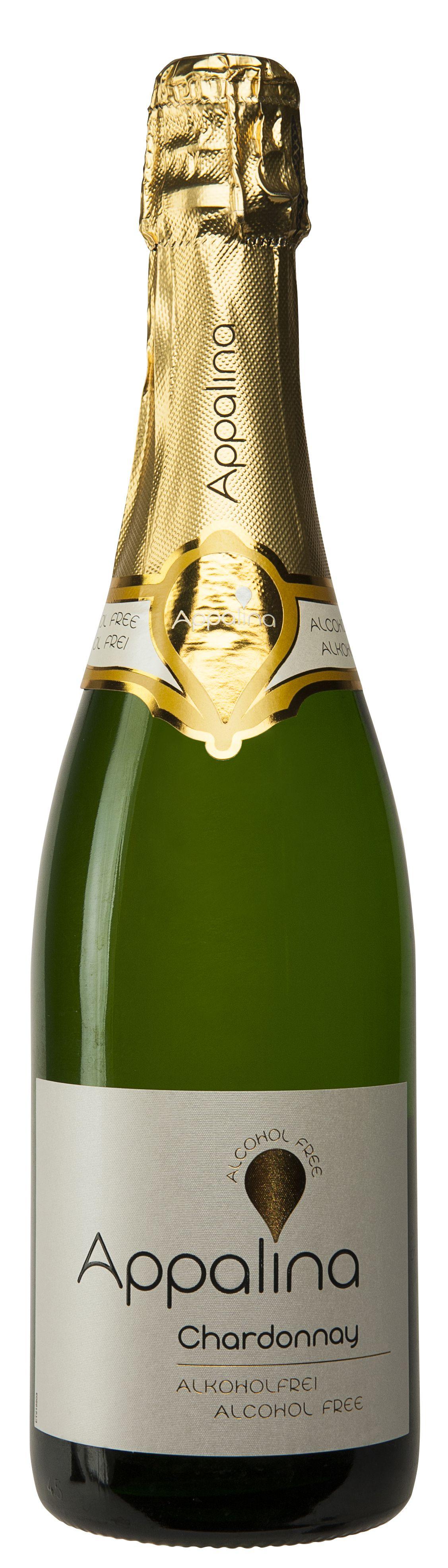 Appalina Sparkling Chardonnay, Non Alcohol