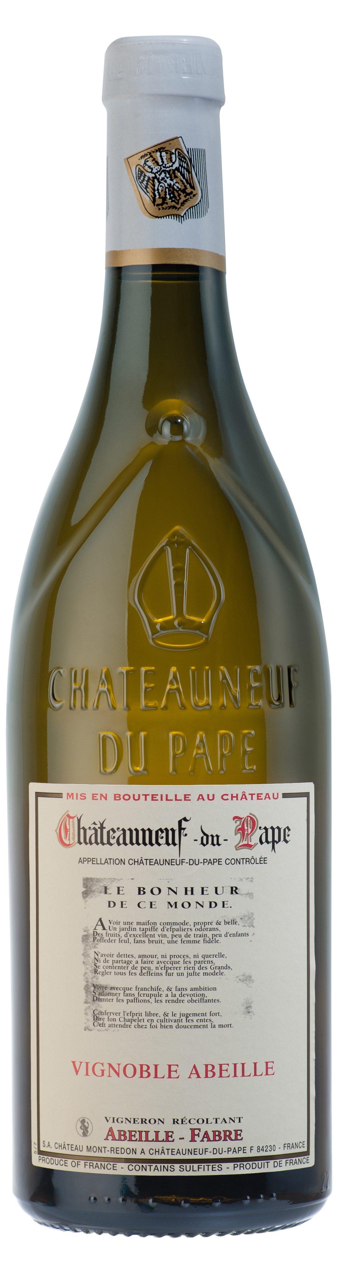 Châteauneuf du Pape blanc- Château Mont-Redon