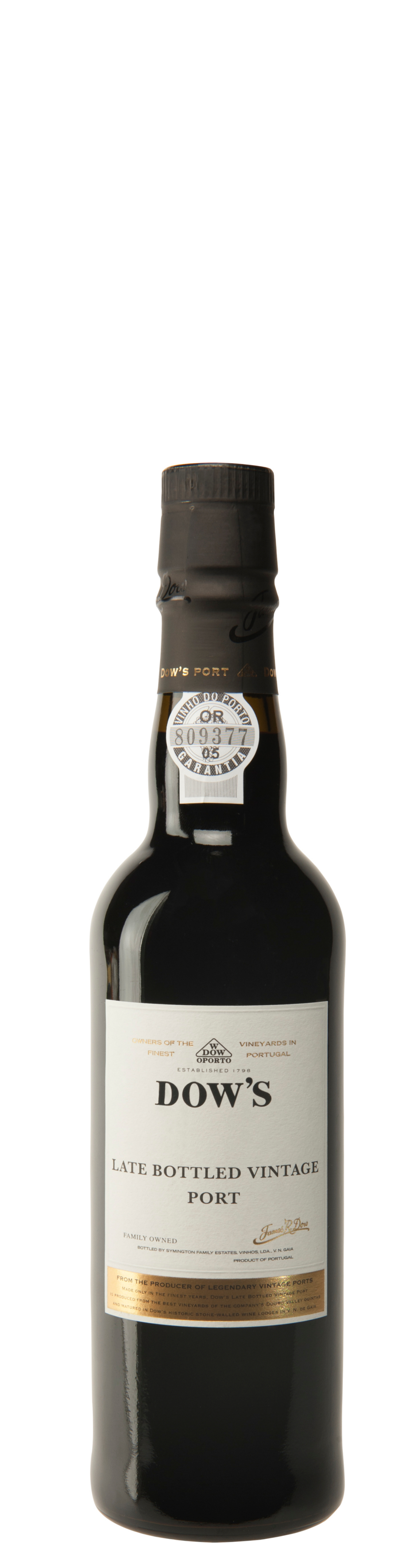 Dow's late bottle vintage port 0,375l
