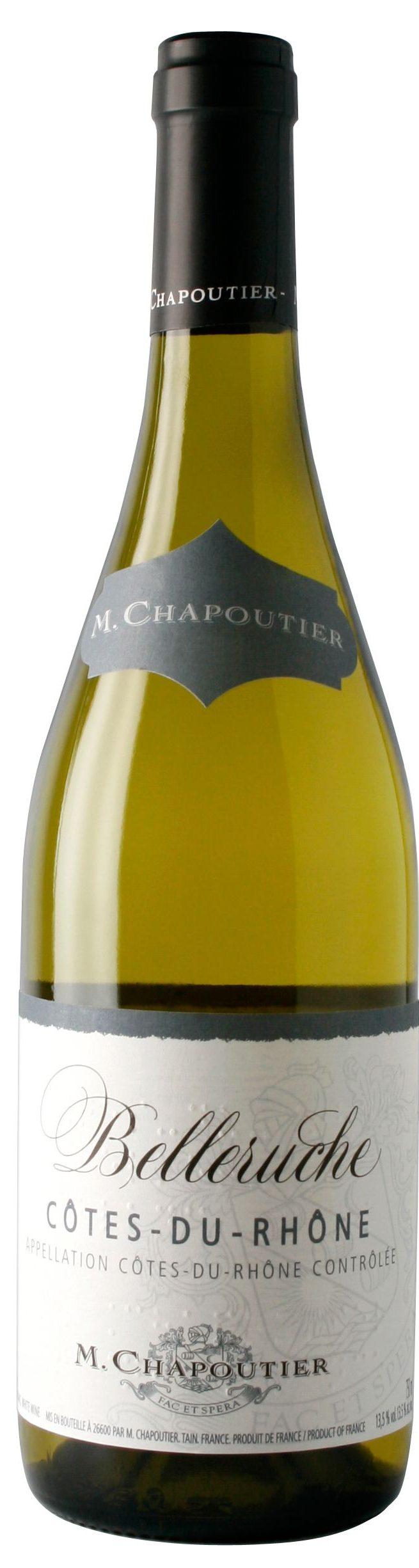 """M. Chapoutier Côtes-du-Rhône """"Belleruche"""" Blanc"""
