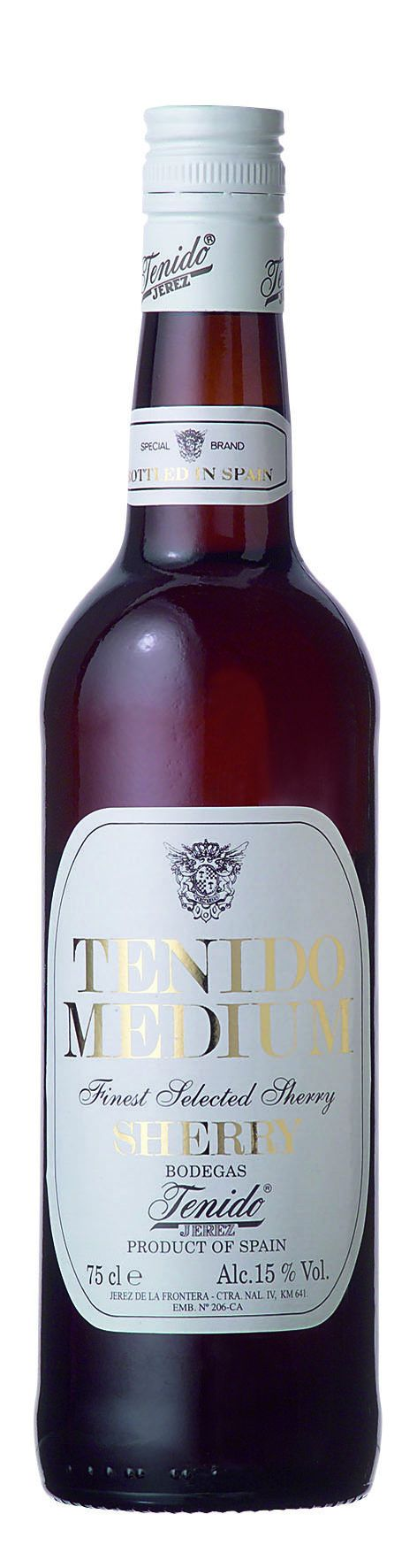 Tenido Sherry Medium 0,75l