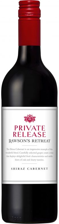 Private Release Rawson's Retreat Shiraz Cabernet - Penfolds