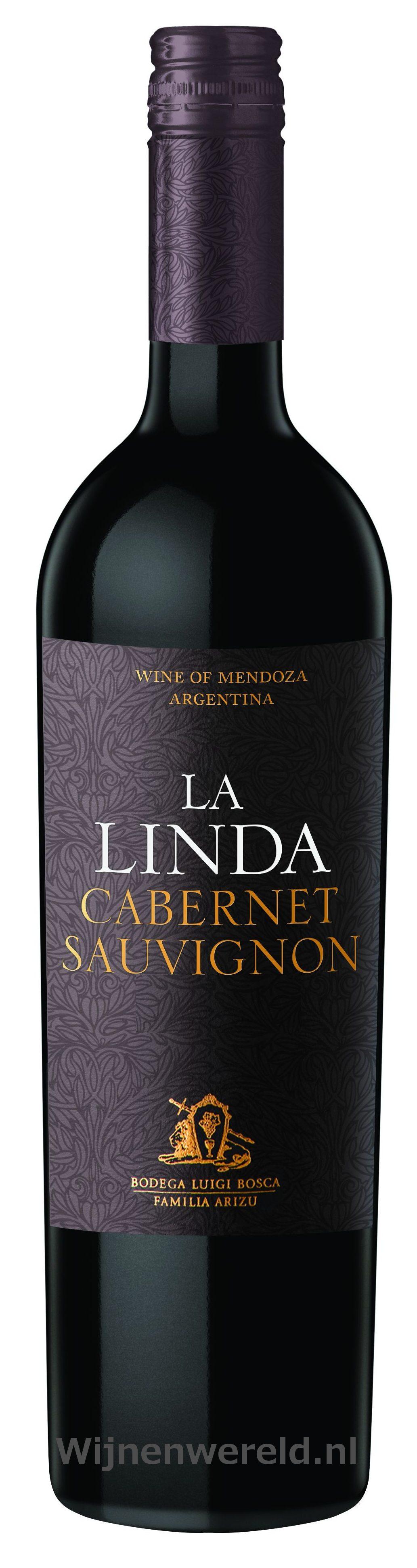 la linda cabernet sauvignon wijnenwereld