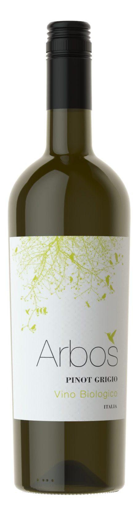 Arbos Pinot Grigio Vino Biologico   Wijnenwereld.nl