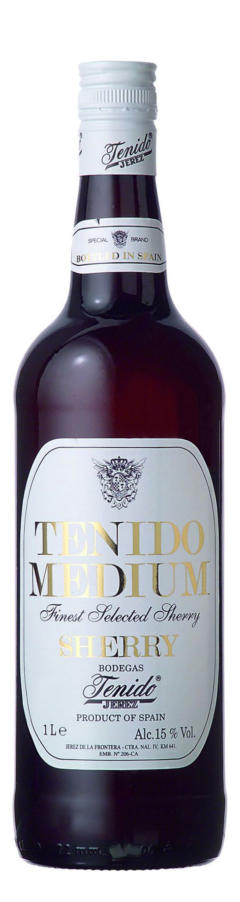 Tenido sherry medium 1 liter