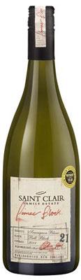 saint clair pioneer block 21 sauvignon blanc | Wijnenwereld.nl