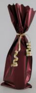 Wijnzak Bordeaux rood metal